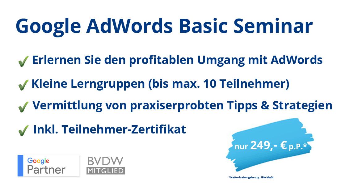 webnativ, AdWords Seminar, AdWords Agentur, AdWords Kampagne