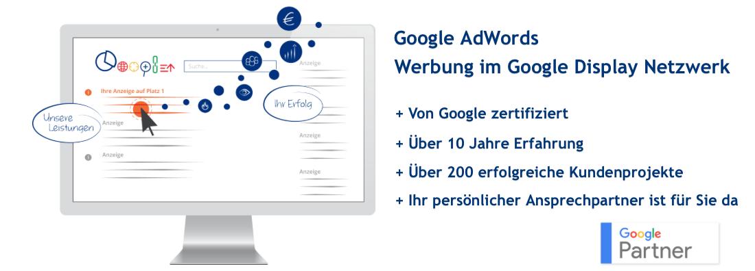 Google AdWords Werbung im Google Display Netzwerk