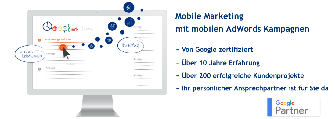 Mobile Marketing mit mobilen Google AdWords Kampagnen
