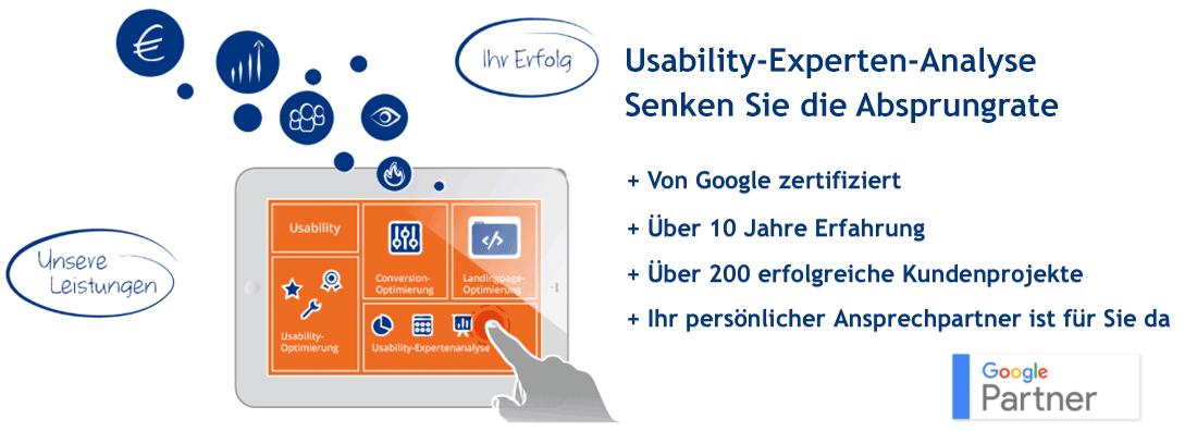 Usability Experten-Analyse