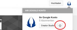 YouTube Kanal Administratoren hinzufügen