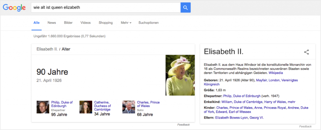 Knowledge Graph Beispiel