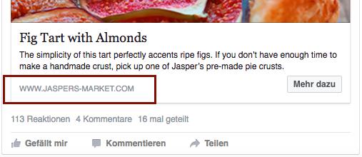 Anzeigenformat Link Ads