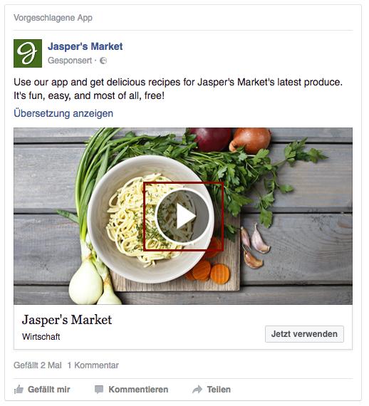 Anzeigenformat Video Ads