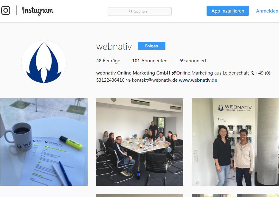Erfolgreiches Instagram Marketing