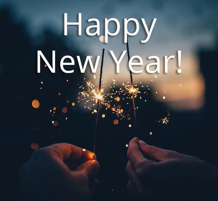 Wir wünschen allen ein frohes neues Jahr