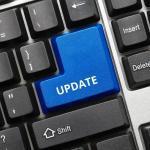 Tastatur mit Update-Taste
