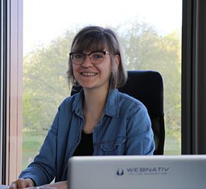 Laura Heyne als Online Marketing Managerin bei webnativ
