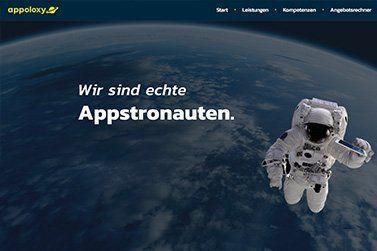 Startseite appoloxy.com - Die neue Business Unit der webnativ Online Marketing GmbH
