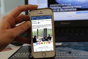 Facebook lässt jetzt Anzeigen von Nutzern bewerten
