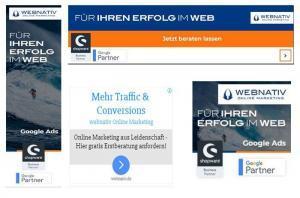 Beispiele für Responsive Display Ads - webnativ.de