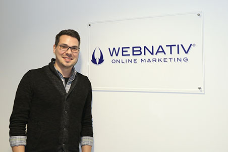 Creative & Art-Director Christoph Nagel unterstützt webnativ
