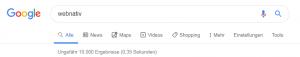 Neues Design der Google-Leiste